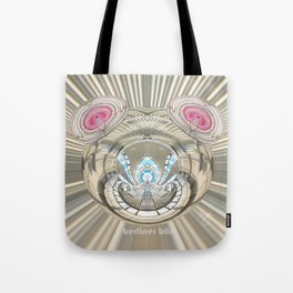 Berliner Bar in Chrome Vinyl Tote Bag