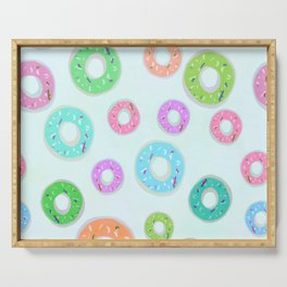 Colourful Donuts Serving Tray