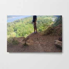 Exploring the Wild Metal Print