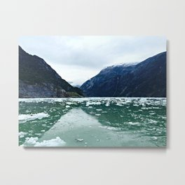 Tracy Arm Fjord Metal Print