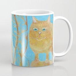 Fat 3 Legged Cat Coffee Mug
