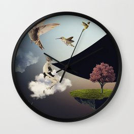 typical afternoon Wall Clock