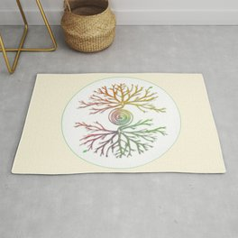 Tree of Life in Balance Rug