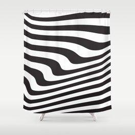 Wave III Shower Curtain
