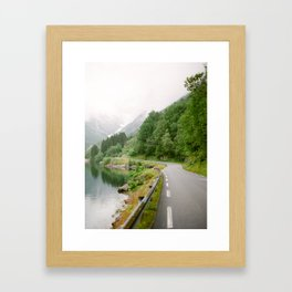 Norwegian Road Trip Framed Art Print