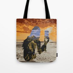 Lady Land Tote Bag