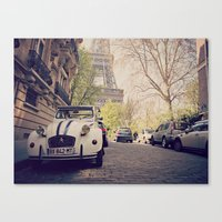 french Canvas Prints featuring French  by FlavioSarescia