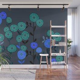 nighty garden dreamer Wall Mural