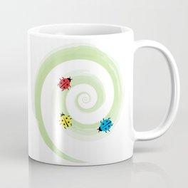 Ladybirds on the Vine Coffee Mug