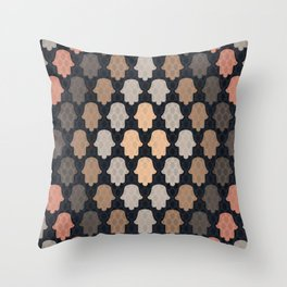 Hamsa Hands 2 Throw Pillow