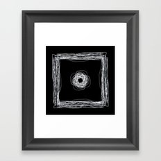 Particle In A Box Invert Framed Art Print