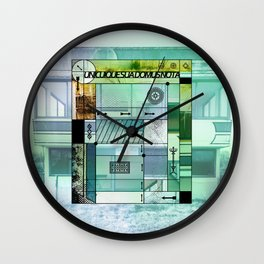 Unicuique sua domus nota B #everyweek 41.2016 Wall Clock