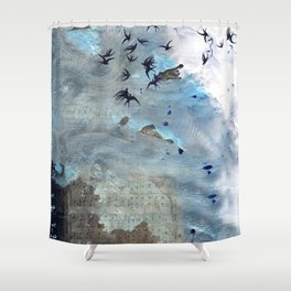 Sounds and sweet airs Shower Curtain