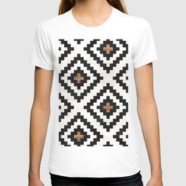 Urban Tribal Pattern No.16 - Aztec - Concrete and Wood T-shirt