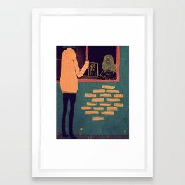 My Friend, The Entity Framed Art Print