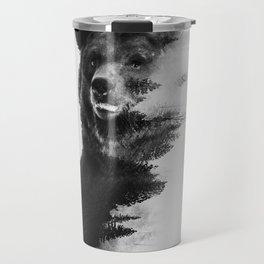 Observing Bear Travel Mug