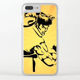 Street Fighter Clear iPhone Case