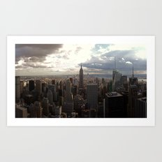 New York Skyline 1 Art Print