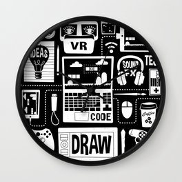 It's a Game Dev World Wall Clock