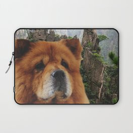Dog Chow Chow Laptop Sleeve