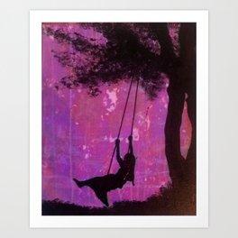 swing dreams Art Print