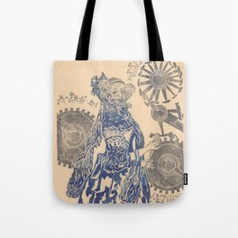Ada, Countess Lovelace, Enchantress of Numbers Tote Bag