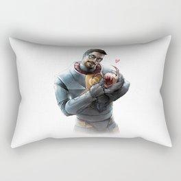 Gordon Freeman and Lamarr Rectangular Pillow