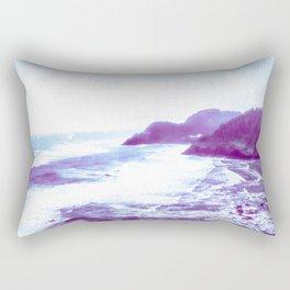 Vintage Coastal Sea Rectangular Pillow