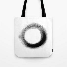 The Black O Tote Bag