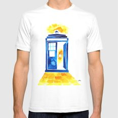 The Doctor of Oz MEDIUM White Mens Fitted Tee