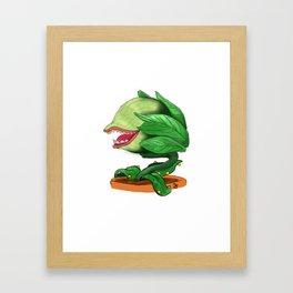 Audrey II Framed Art Print