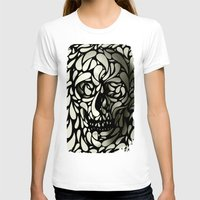 animal skull T-shirts featuring Skull by Ali GULEC