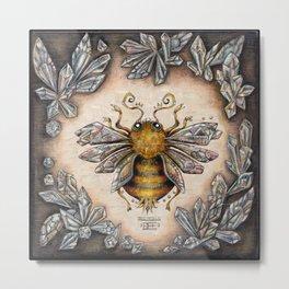 Crystal bumblebee Metal Print