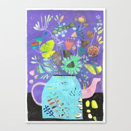 coffeepotflower Canvas Print