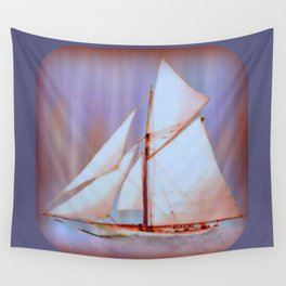 Ghost Sails Wall Tapestry