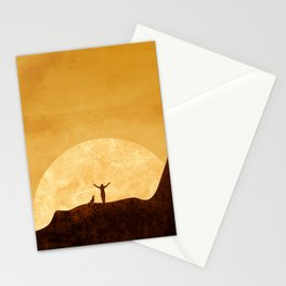 Dreaming sunset Stationery Cards