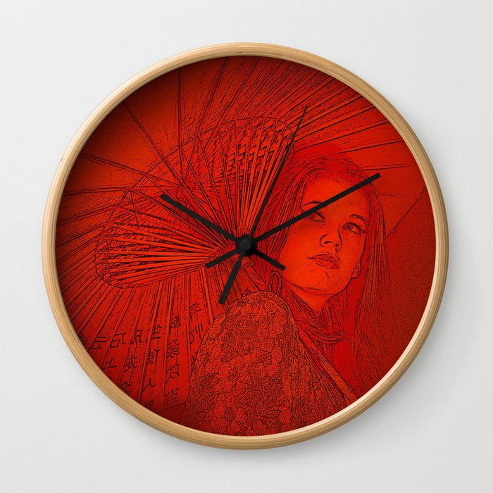Chinagirl Wall Clock