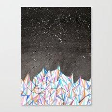 Crystal City at Night Canvas Print