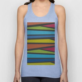 Colorful Way Unisex Tank Top