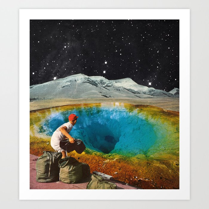 Discover the motif CLEAR HISTORY by Beth Hoeckel as a print at TOPPOSTER