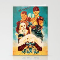 mad max Stationery Cards featuring Mad Max by marclafon