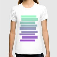 ombre T-shirts featuring Ombre by Miranda Williams