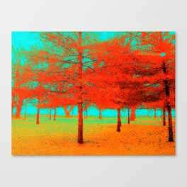 Vintage Trees at the Beaches in Toronto Canvas Print