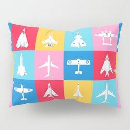 Classic Iconic Aircraft Pattern - International Pillow Sham