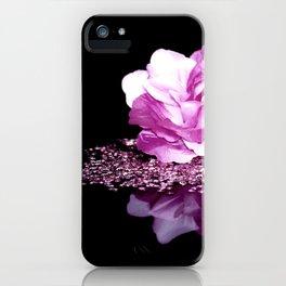 Flower reflexion iPhone Case