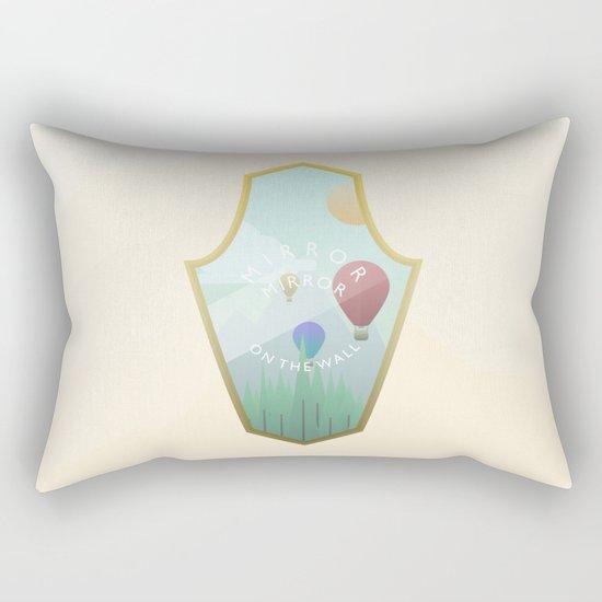 Mirror, mirror, where are you? Rectangular Pillow