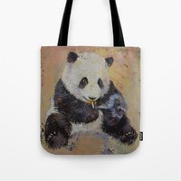 cigarette Tote Bags featuring Cigarette Break by Michael Creese