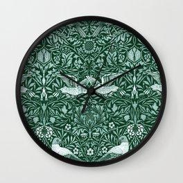 "William Morris ""Birds"" 6. Wall Clock"