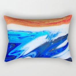 Sand and Ocean Rectangular Pillow