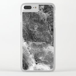 Cold water 57 Clear iPhone Case